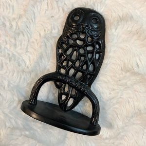 ⭐️4/$15[Urban Outfitters] Black Owl Earring Holder